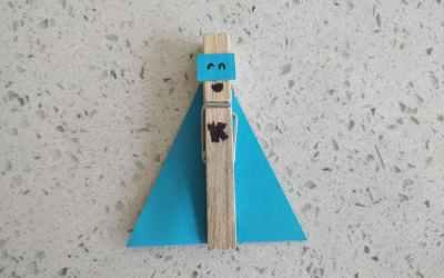 Arts & Crafts: Superhero Clothespin!