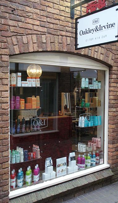 Oakley Irvine Stratford hairdressers