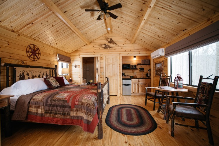 Cabin #1 Main Cabin Space