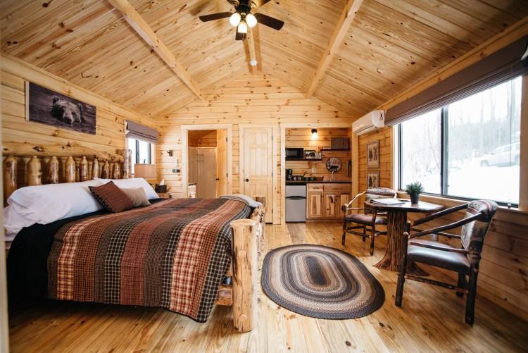 Cabin #2 Main Cabin Space
