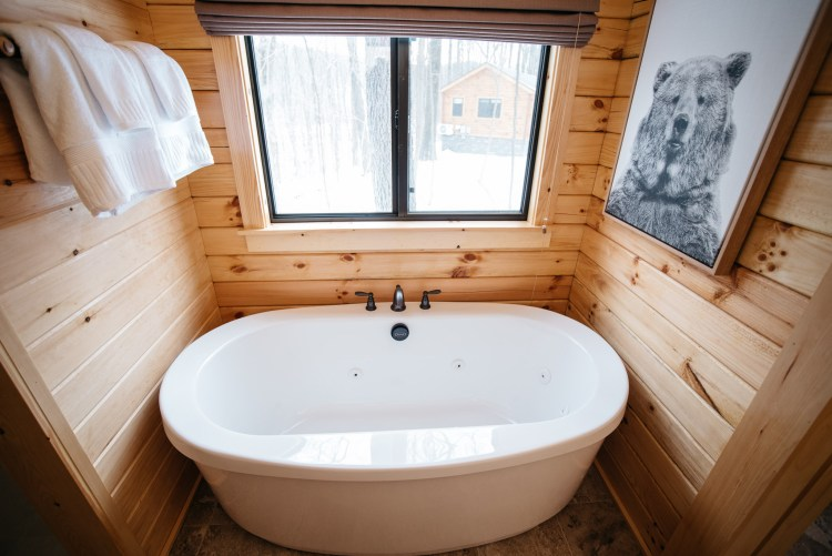 Cabin #2 Tub