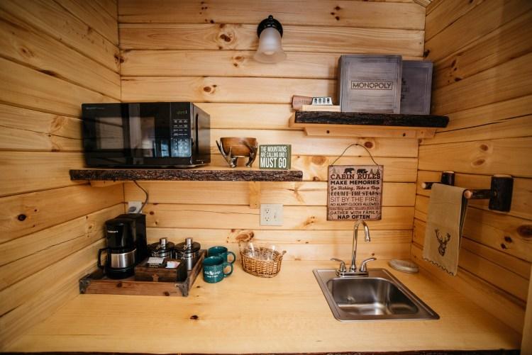 Cabin #3 Kitchenette