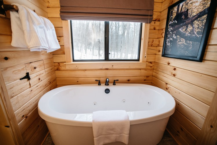 Cabin #3 Tub