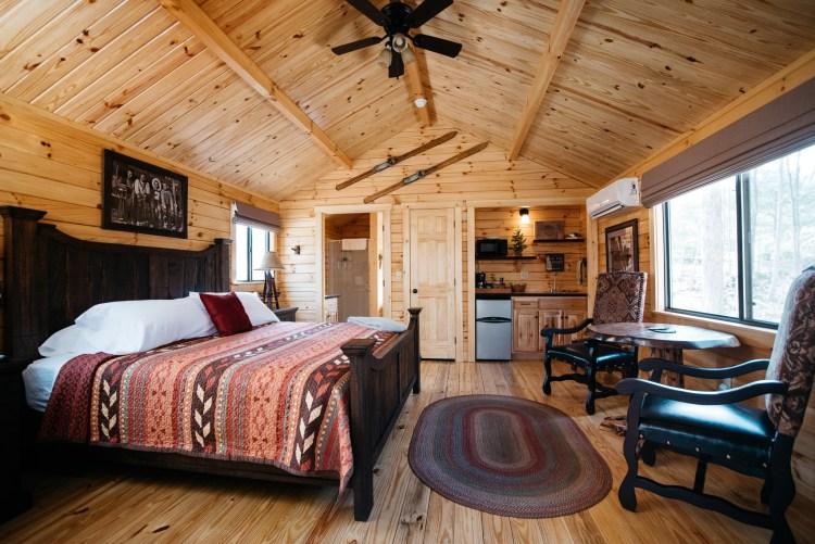 Cabin #13 Main Cabin Space