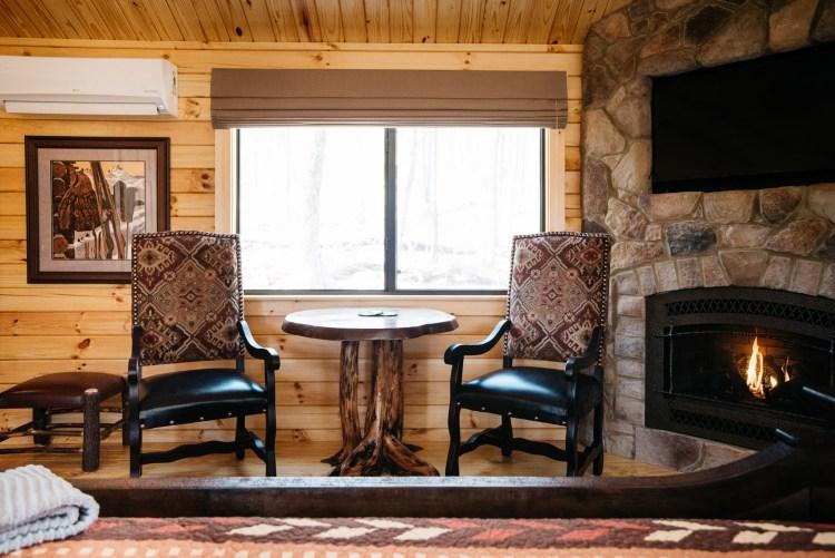 Cabin #13 Dinette