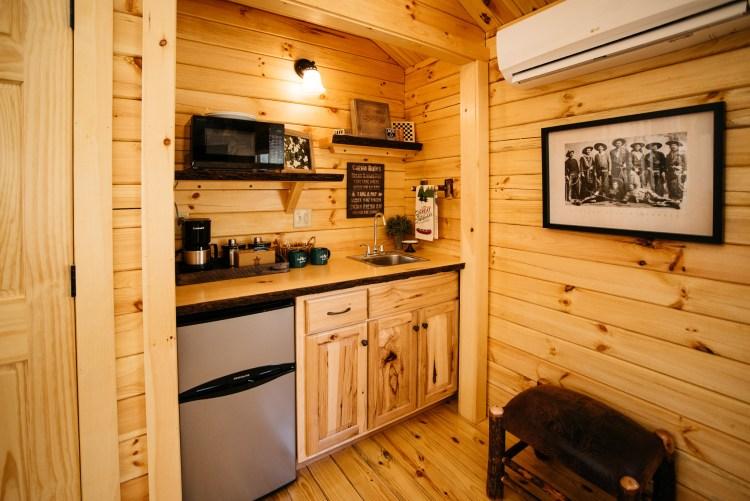 Coffee Pot, Microwave & Refrigerator