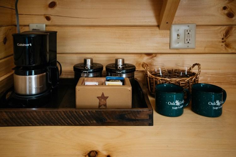 Local Coffee, Tea, Hot Cocoa & Mini Wet Bar