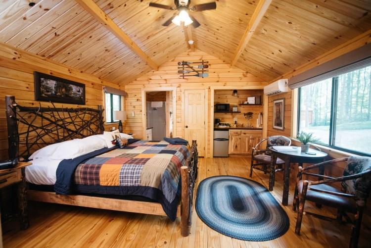 Cabin #6 Main Cabin Space