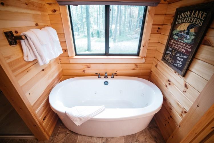 Cabin #6 Tub