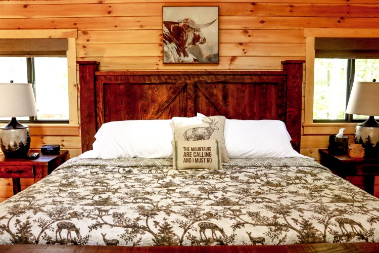 Cabin #17 King Bed