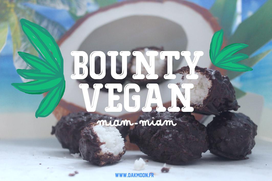 Recette de mes petits Bounty vegan. Dégustation en conscience pour une écriture créative