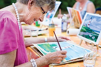 assisted living and memory care activities