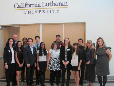 National Honor Society members participate in annual ethics conference at Cal Lutheran campus (Photo Courtesy of Mrs. Hawkins).