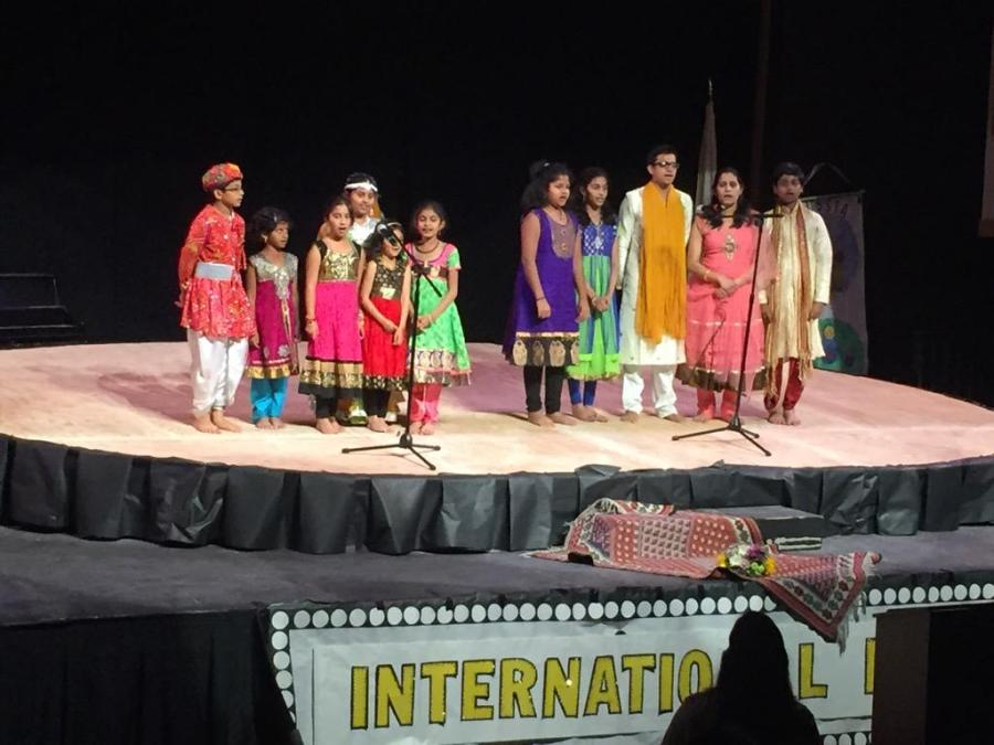 Students+of+all+ages+perform+a+traditional+Indian+song+together+%28Carly+Albert%2FTalon%29.