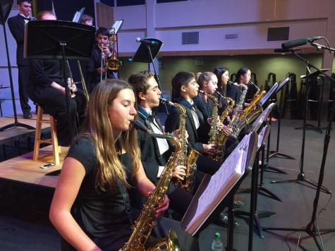 Band debuts at fall concert