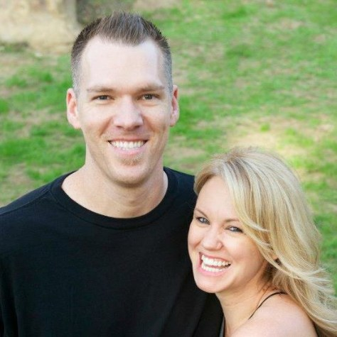 Chris Hager and his wife Betty