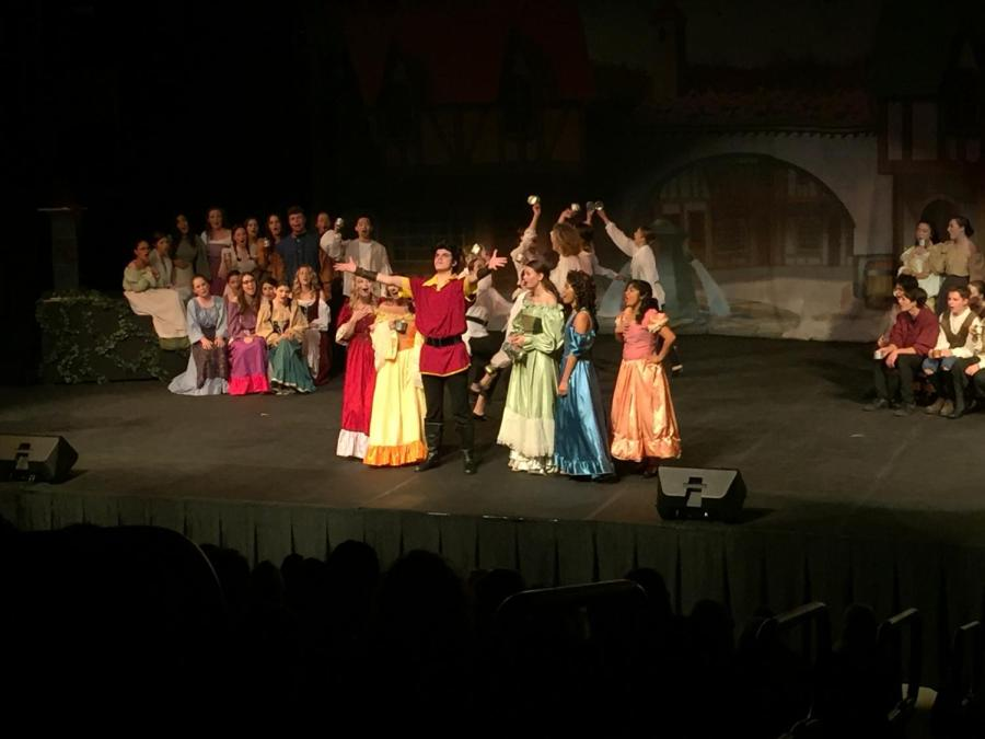 Oak Park Drama Club's production of Beauty and the Beast.