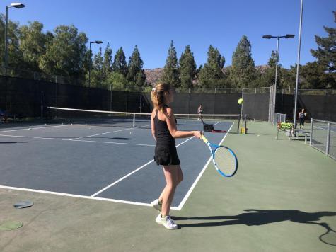 Girls' tennis team prepares for league