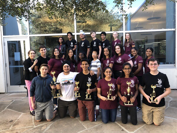 Debate team grew in the last year to double their size