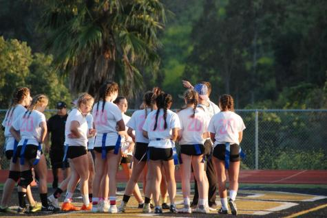 Seniors faced off against juniors in the annual Powderpuff football game, both sides fired up and motivated to win.