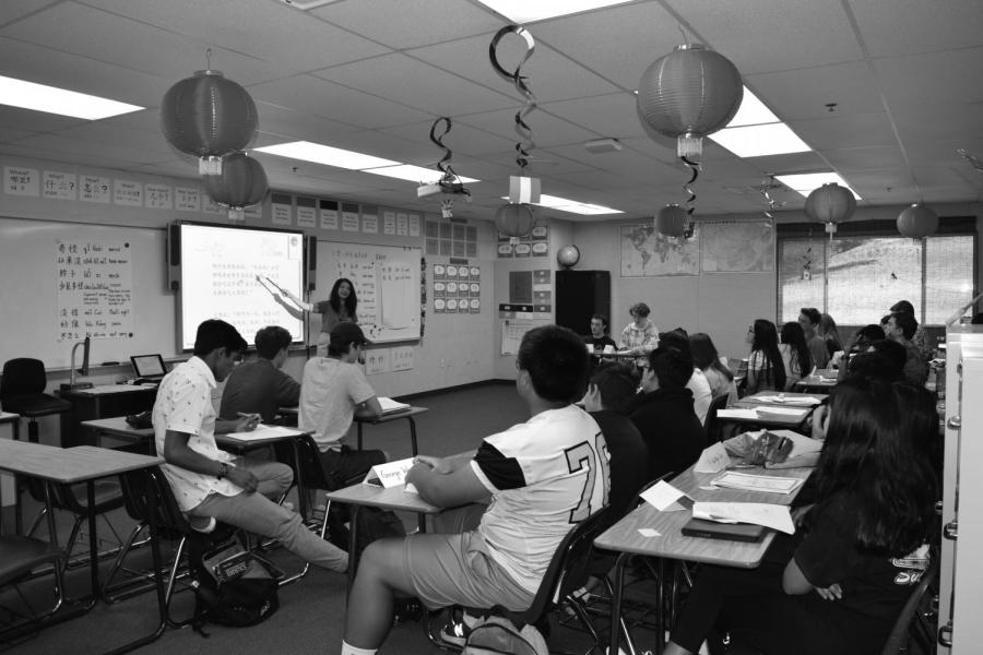 Due to the low enrollment of classes, Oak Park High School has started to combine classes.