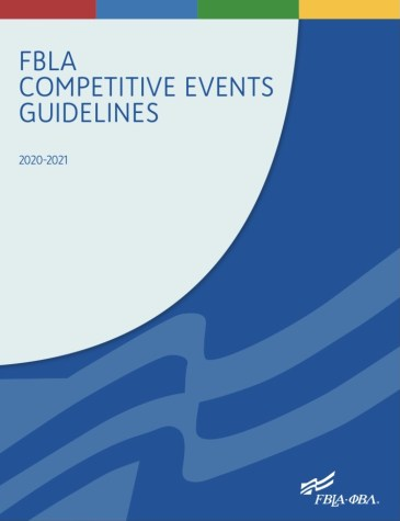Cover image of the competition guidelines for the 2020-2021 academic year.