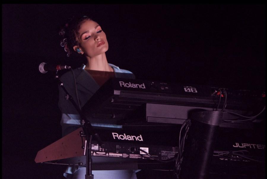 Pianist Bonnie McIntosh performs in Philadelphia during K-12 Melanie Martinez Tour. (Photo courtesy of Derek Brad)