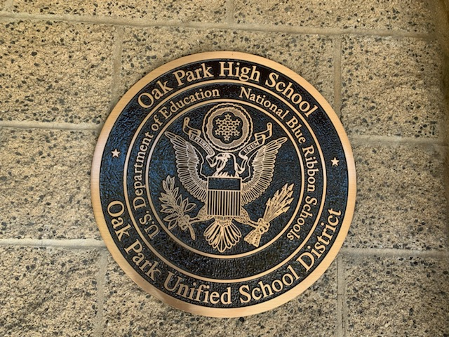 Oak Park High School is nominated as an Exemplary Achievement Gap Closing School