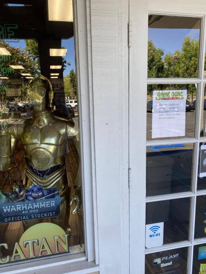 Game Ogre, located on the corner of Kanan and Lindero, is filled with games and pop-culture memorabilia. (Photo courtesy of Chase Willet/Talon)
