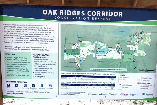 ORM Trail sign
