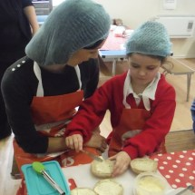 Learning all about Helthy Sandwiches with our Parents 3