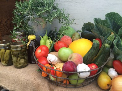 Fresh Fruit, Veggies, Honey and Pickles - June 2014