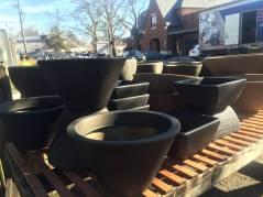 Lightweight Black Planters - Spring 2016