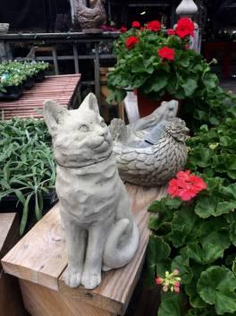 Cat Statuary - Spring 2017