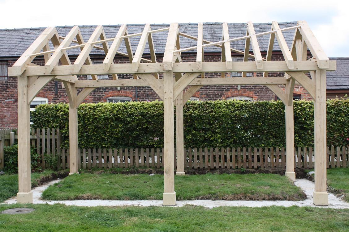 Oak Gazebo Amp Oak Framed Car Ports Wooden Gazebos Oak
