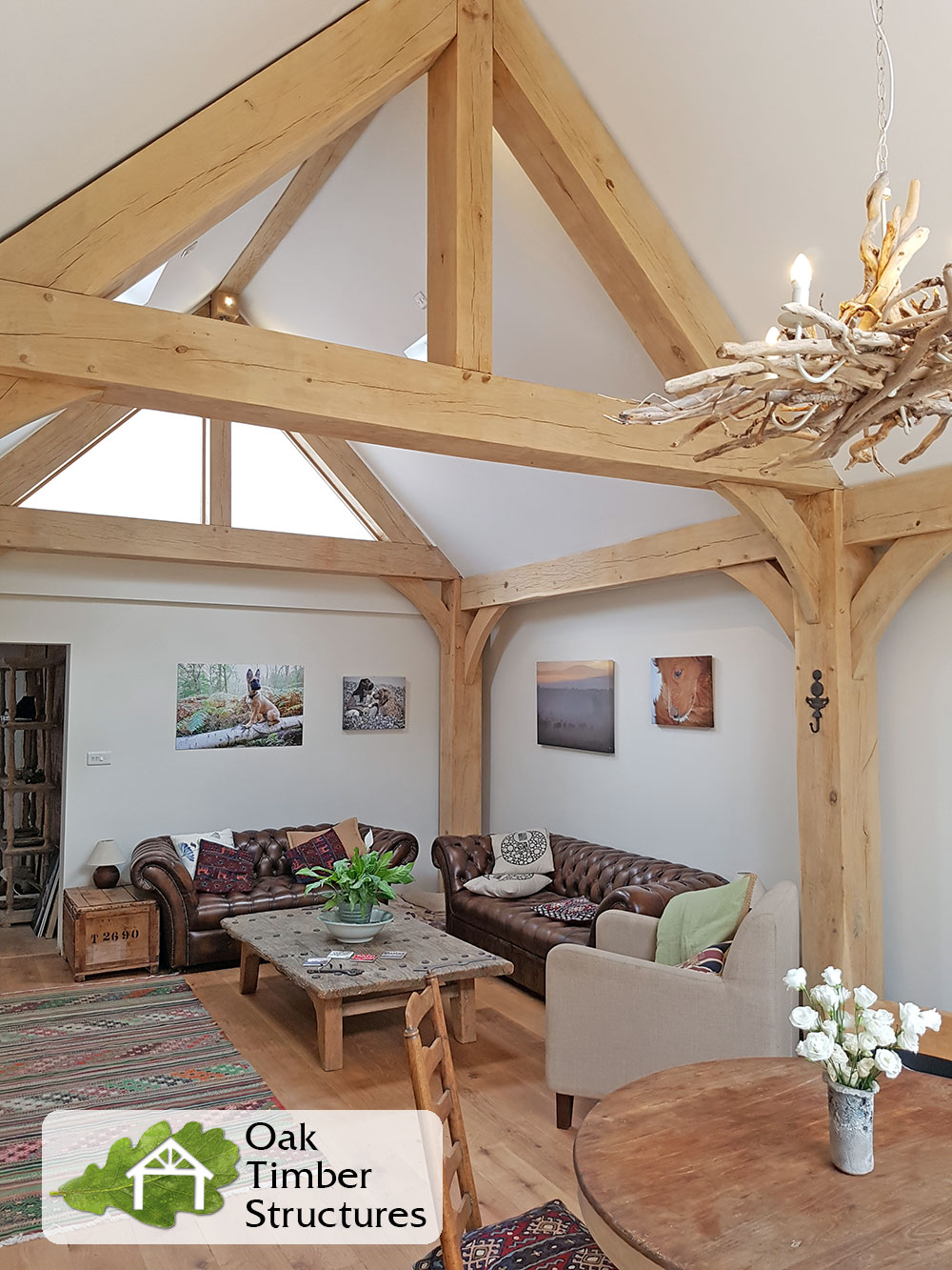 Truss Photo Gallery Oak Timber Structures
