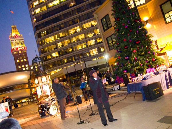 oakland jazz workshop, city center tree lighting