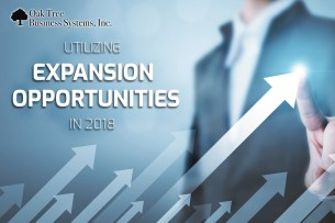 Utilizing Expansion Opportunities in 2018