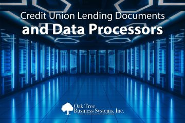 Credit Union Lending Documents and Data Processors from Oak Tree Business Sys