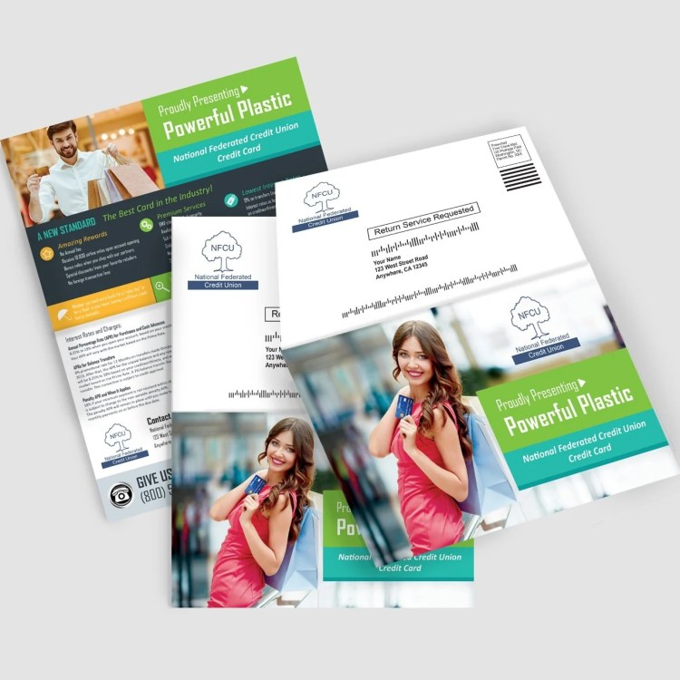 Credit Union Marketing Services Sample - Direct Mail