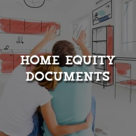 Credit Union Home Equity Documents