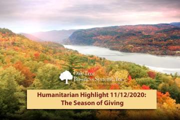 Humanitarians Season of Giving