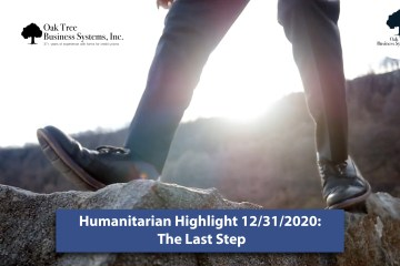 Humanitarians and the Last Step