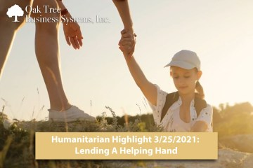 Credit Union Humanitarian Highlight 3/25/21: Lending a Helping Hand