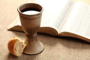 communion-cup-bread-bible image