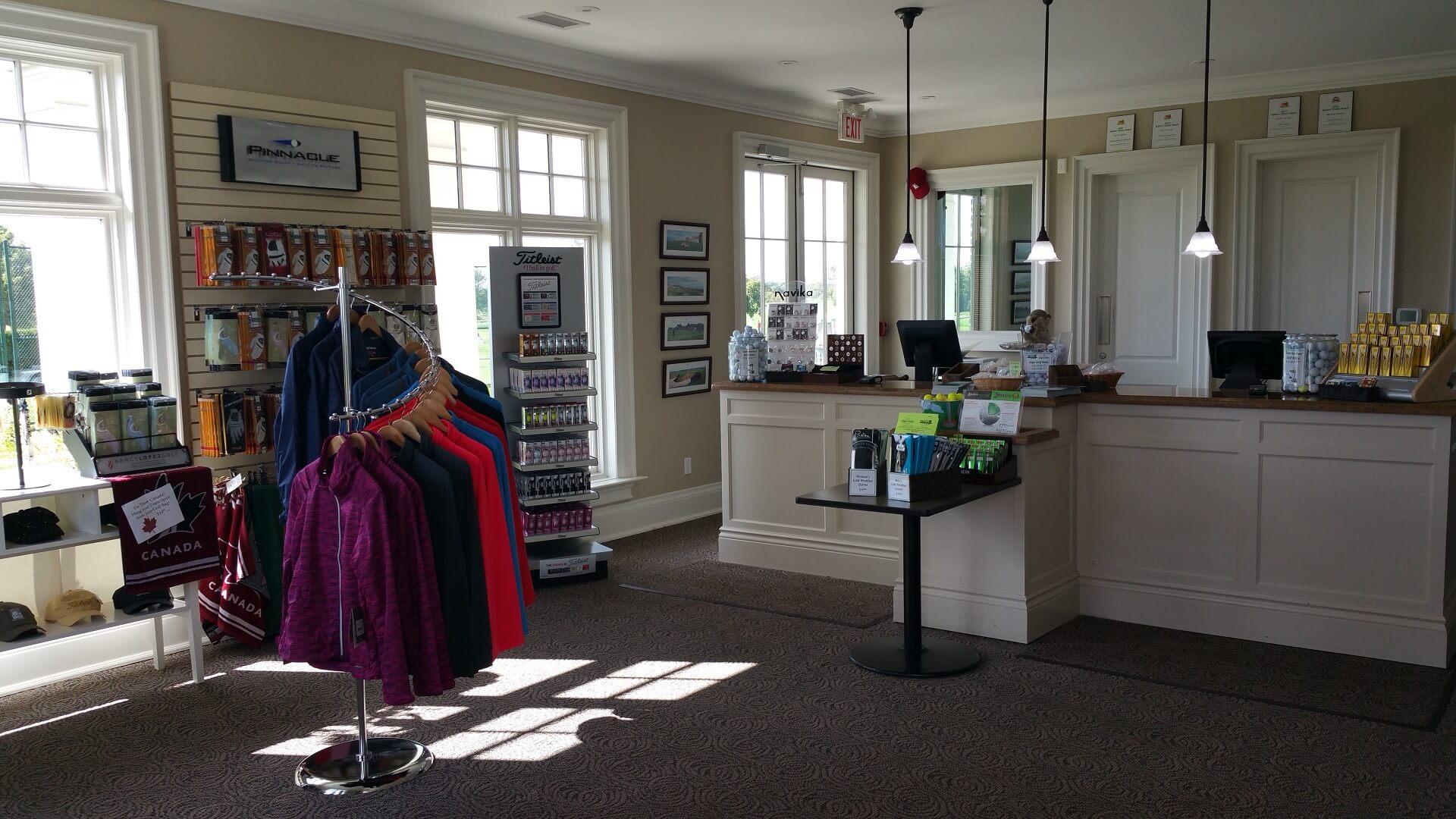 oakville executive golf shop