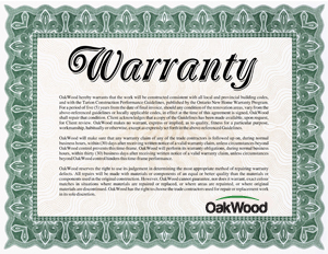 Industry leading 5 Year Warranty