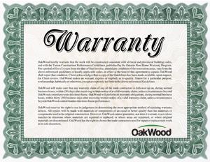 Industry leading 5 Year Warranty
