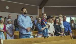Family Welcome at Oakwood United Methodist Church, Lubbock Texas