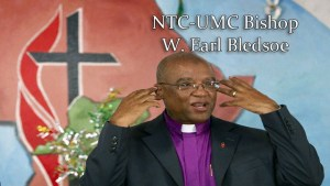 Bishop W. Earl Bledsoe, United Methodist Church, North Texas Conference